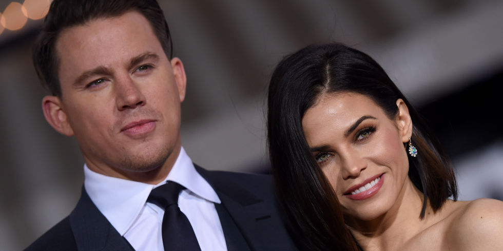 Channing Tatum with girl frind