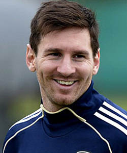Lionel messi profile