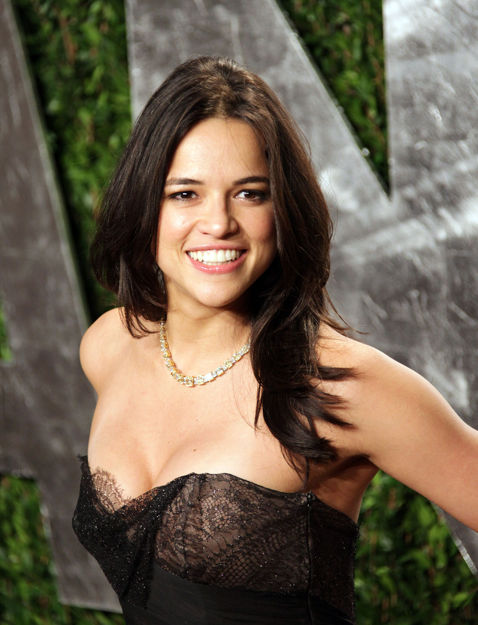 Michelle Rodriguez at 2012 Vanity Fair Oscar Party